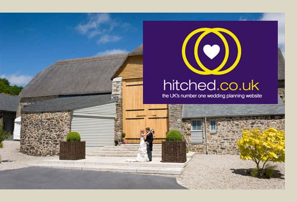 hitched, the great barn devon, wedding venue in devon, devon wedding venues, special wedding venue, romantic wedding venues