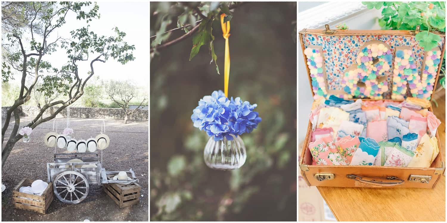 Beautiful finishing touches for your wedding