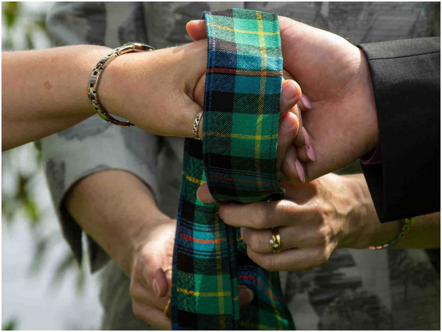 Example of handfasting ceremony