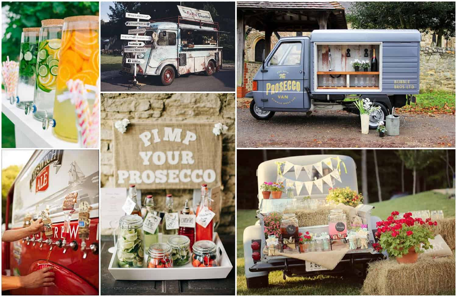 wedding catering and drinks ideas