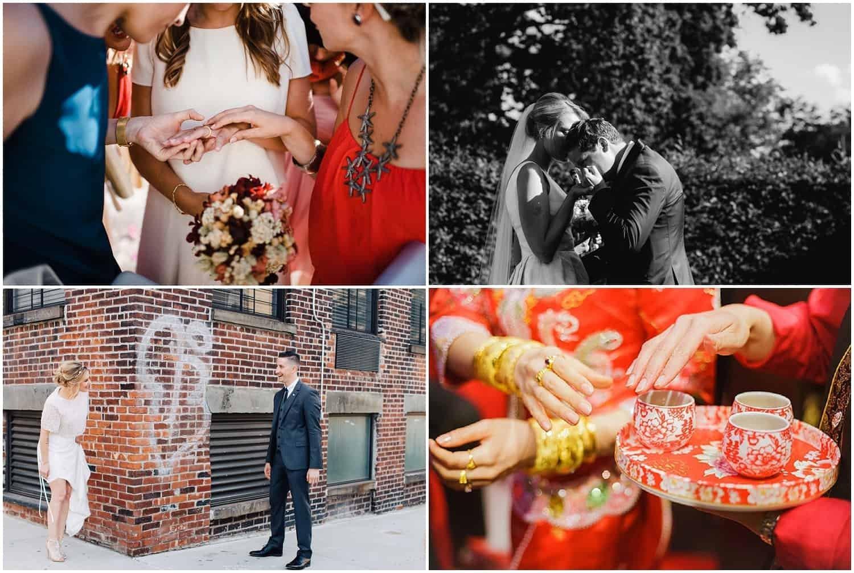 Wedding inspiration - stolen moments, first looks
