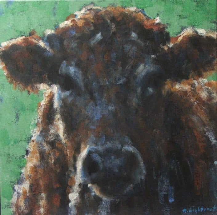 Red Cow Blue Face, Katharine Lightfoot