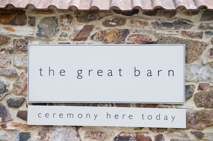 The Great Barn Devon, Wedding Venue Devon