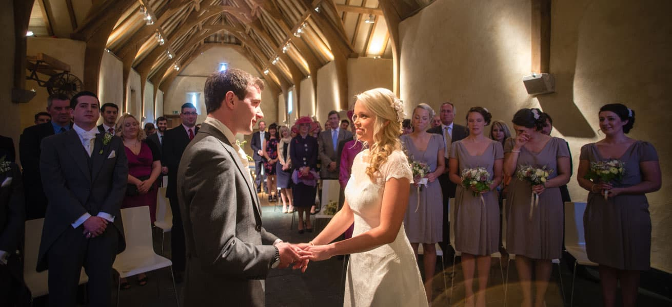 Weddings, The Great Barn Devon, Devon Wedding Venues