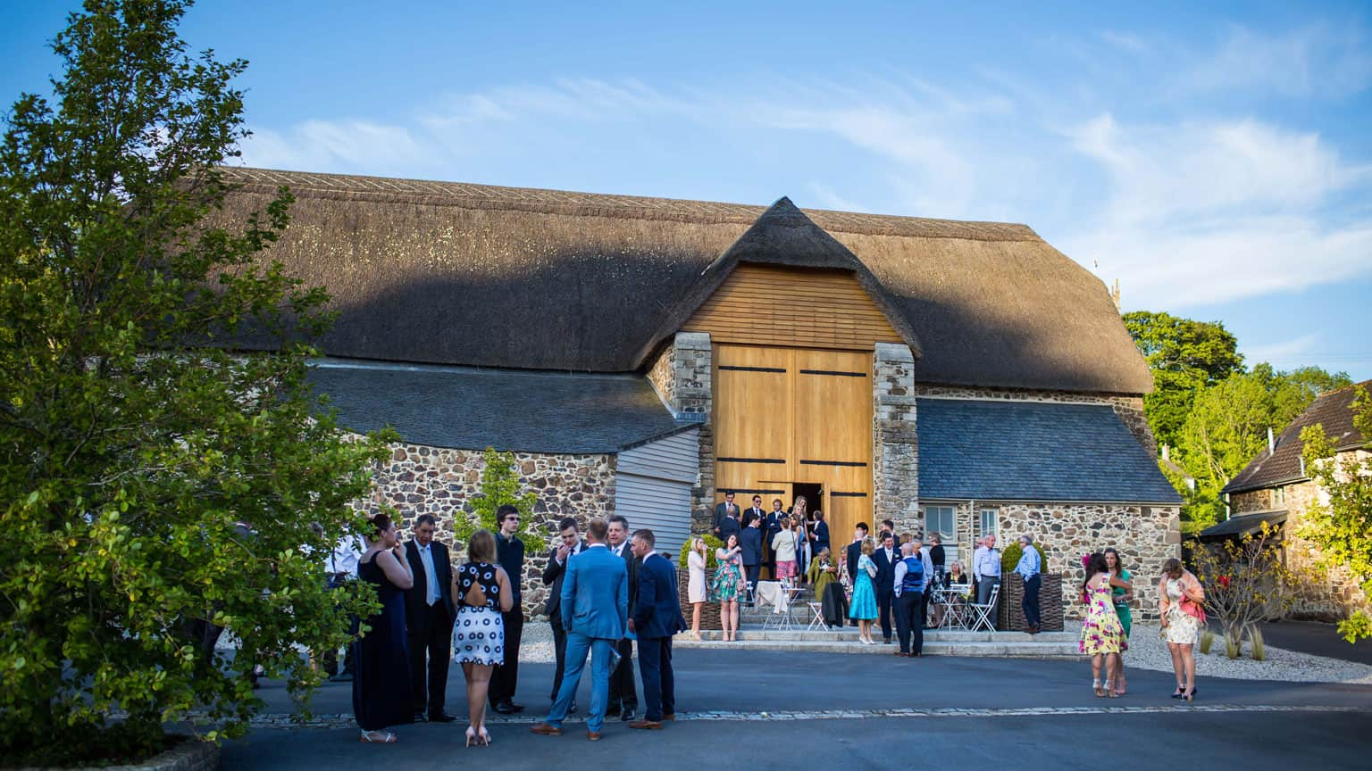 the great barn devon, wedding venue
