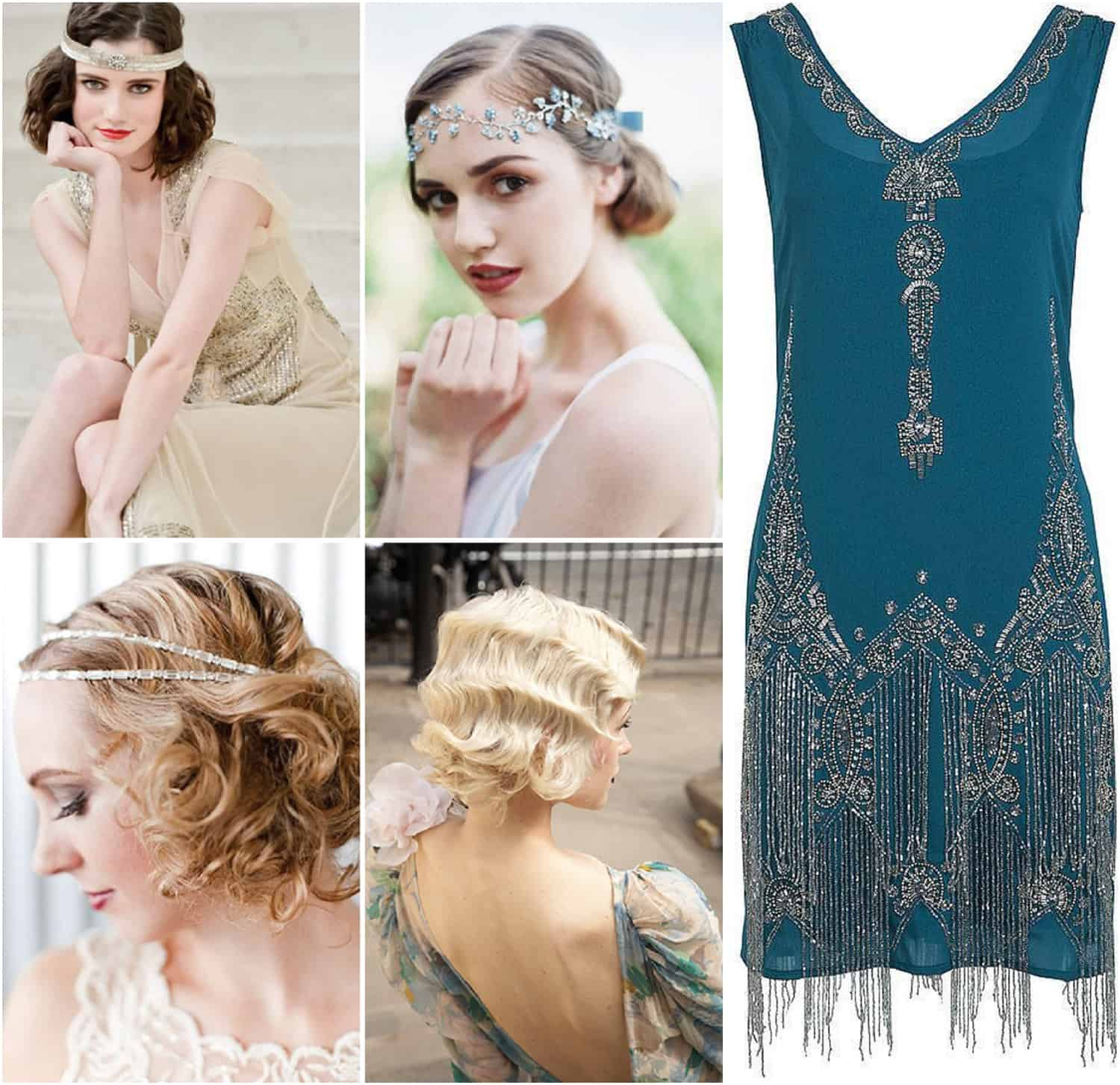 1920s headpieces, 1920s dress, 1920s wedding