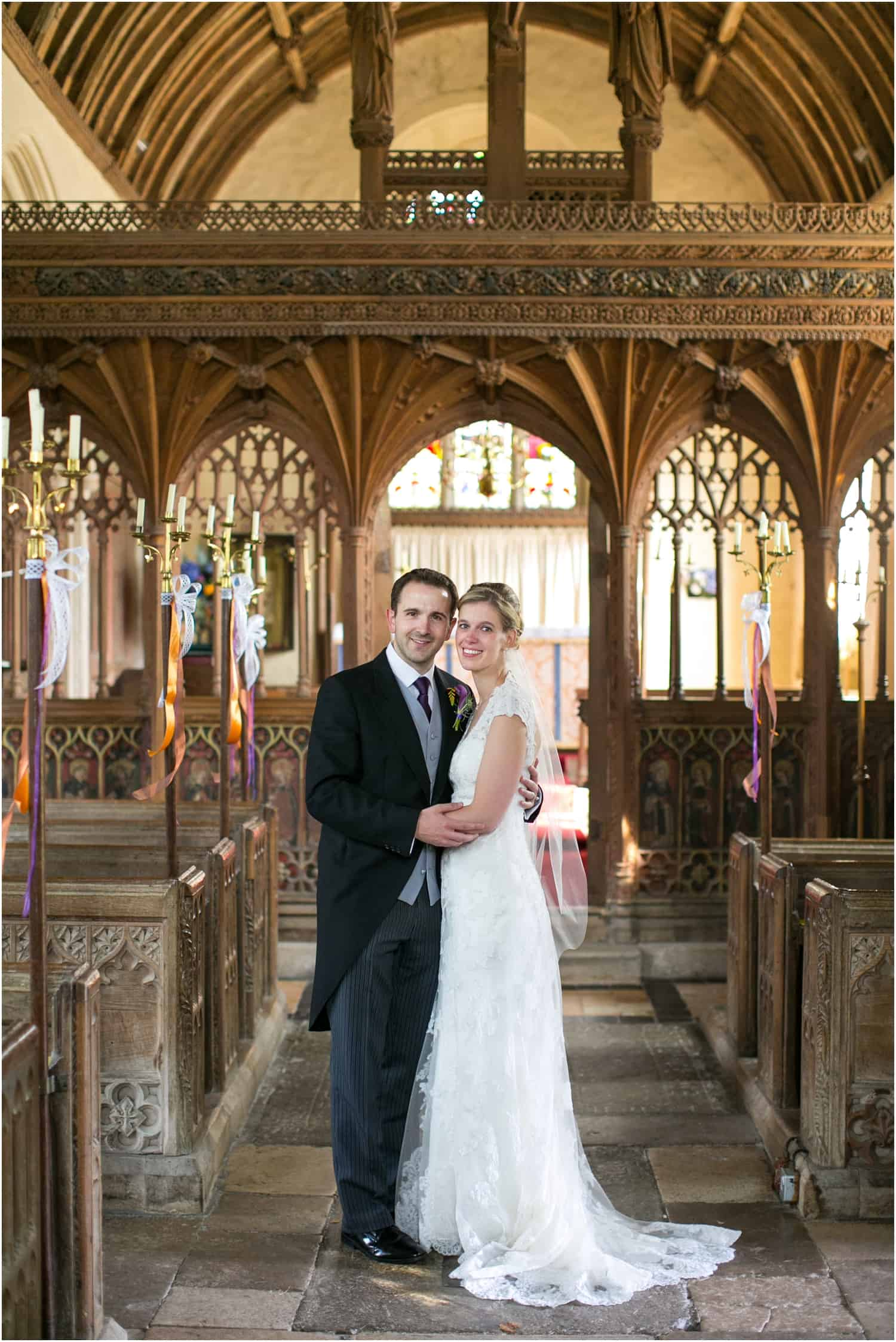 The Great Barn Wedding, lace gown, church wedding, Devon wedding