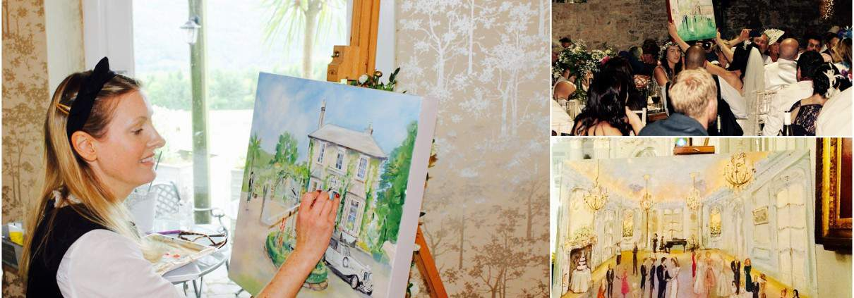 Watercolour Weddings by Charlotte Atkinson