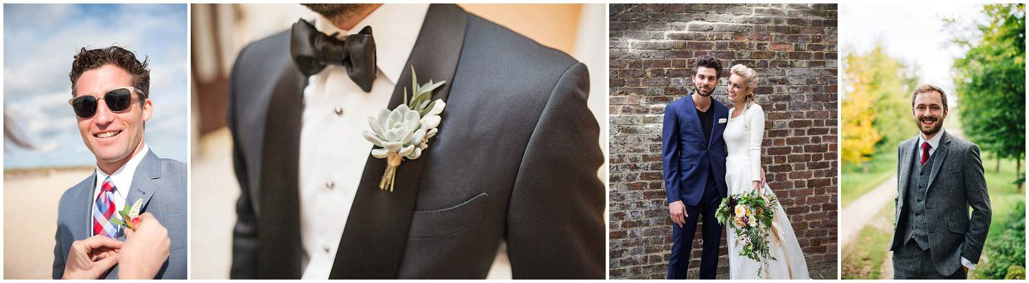 Groom style as featured on Style & The Bride, Love My Dress, Bespoke Bride