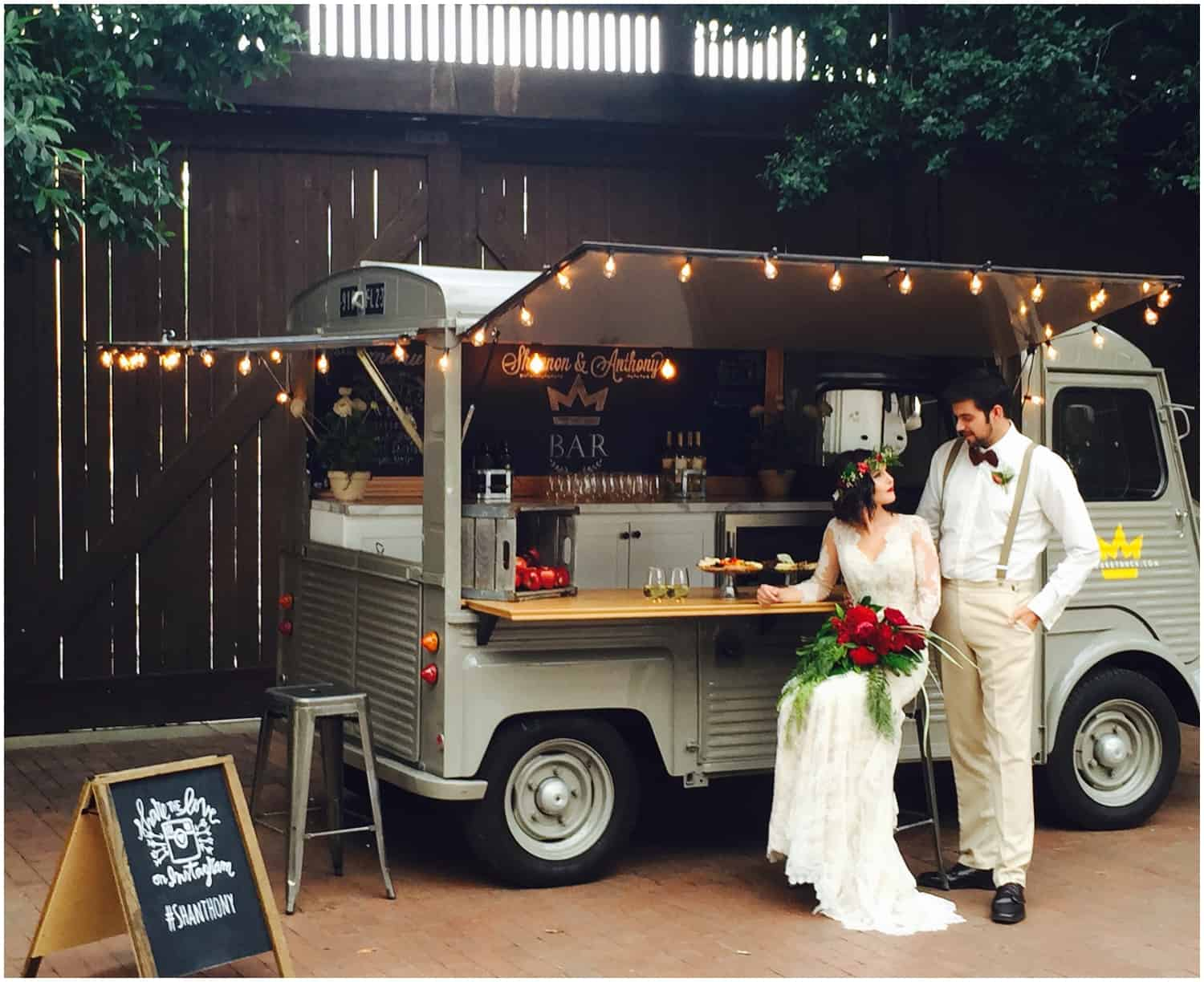 Wedding food truck