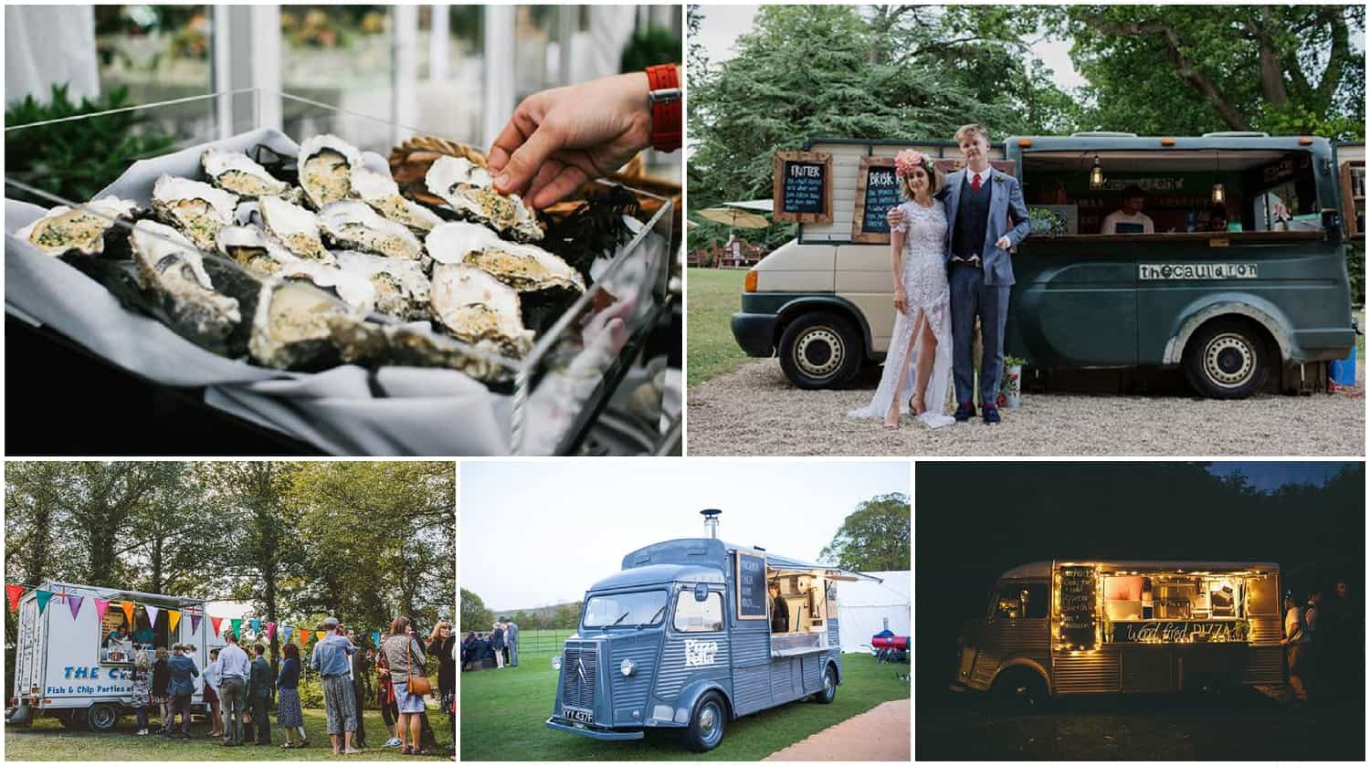 wedding food trucks and alternative catering
