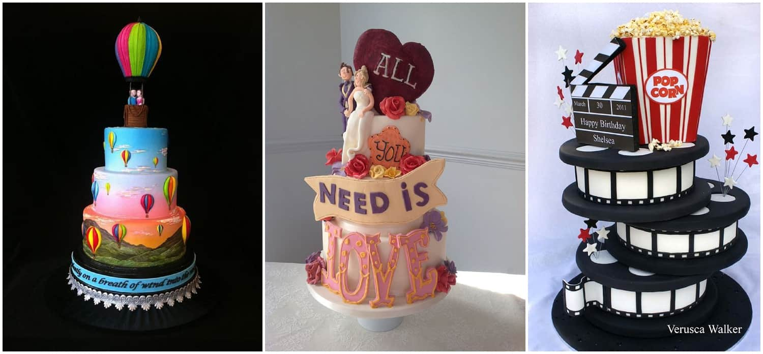 Novelty wedding Cakes