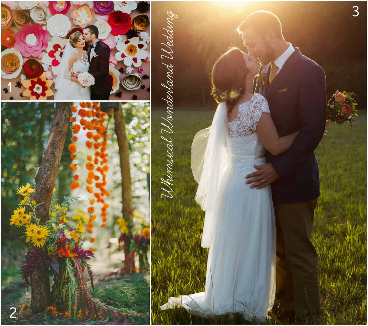 Whimsical Wonderland Weddings bridal blog
