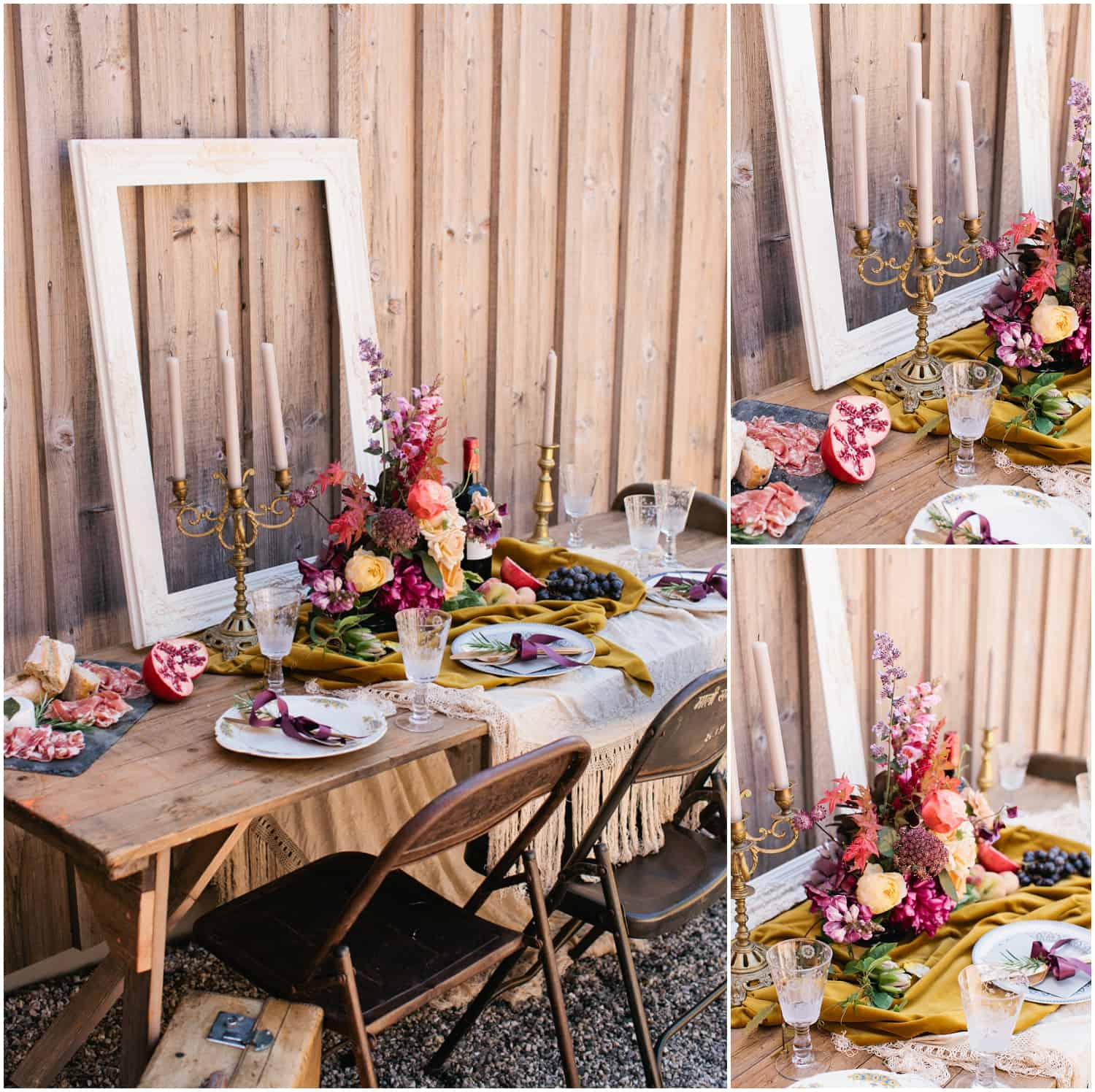 Boho Luxe Inspiration For Your Table Setting – Devon Wedding Venues