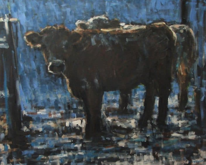 Cattle In The Yard, Katharine Lightfoot