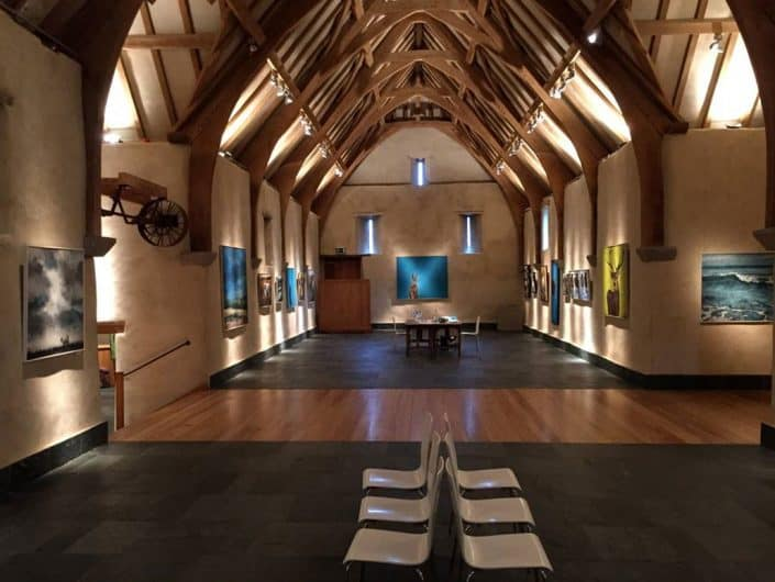 Kat Lightfoot Exhibition - Gallery Space at the Great Barn Devon