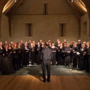 Exeter Chamber Choir, Christmas concert, Christmas carols, The Great Barn Devon