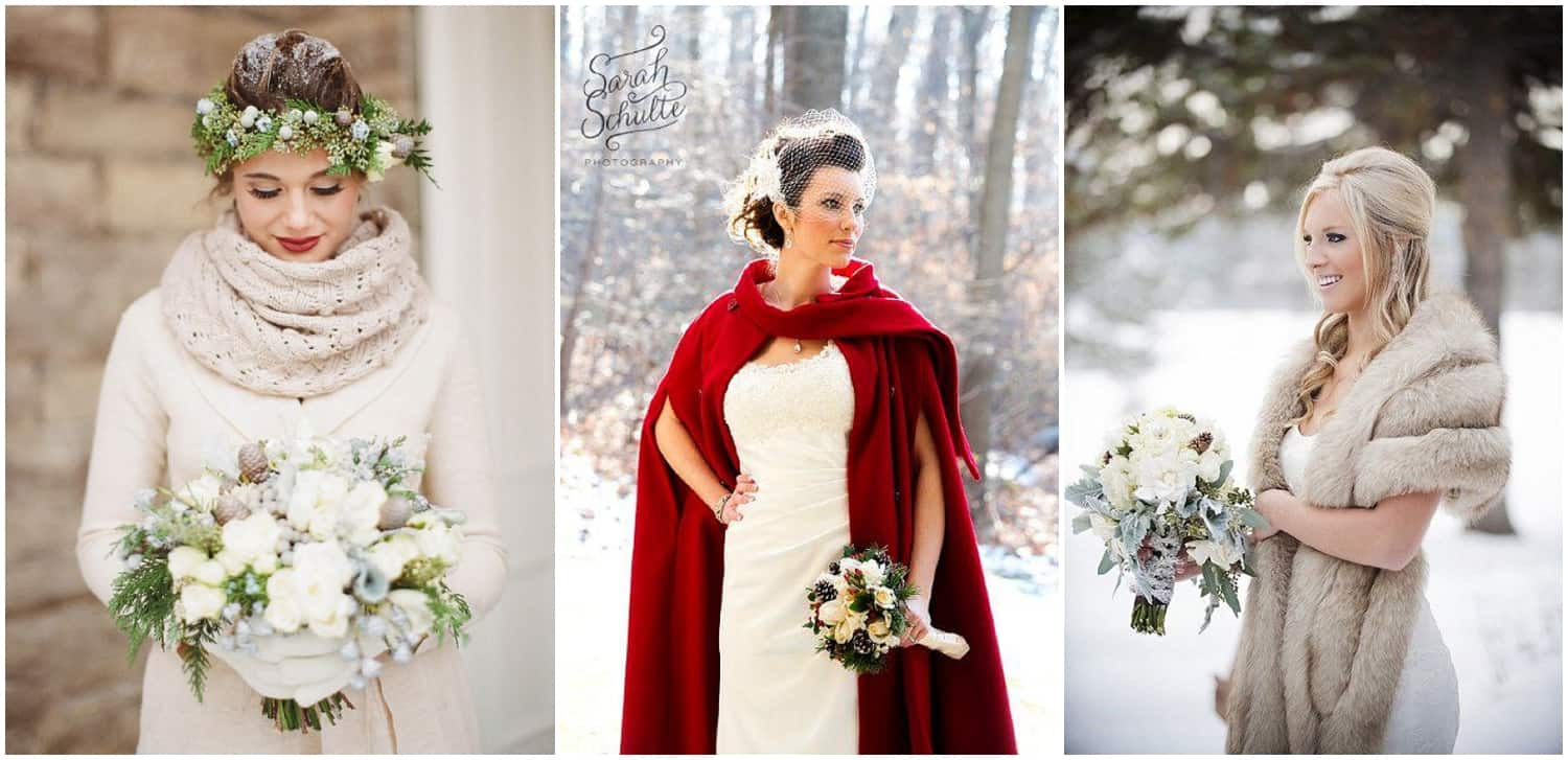 winter wedding, winter bride, Christmas wedding, Christmas inspired bridal accessories