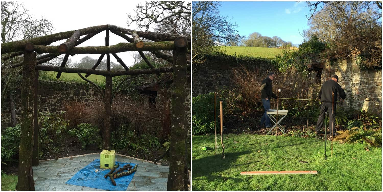 Building A New Gazebo For Outdoor Weddings Devon Wedding