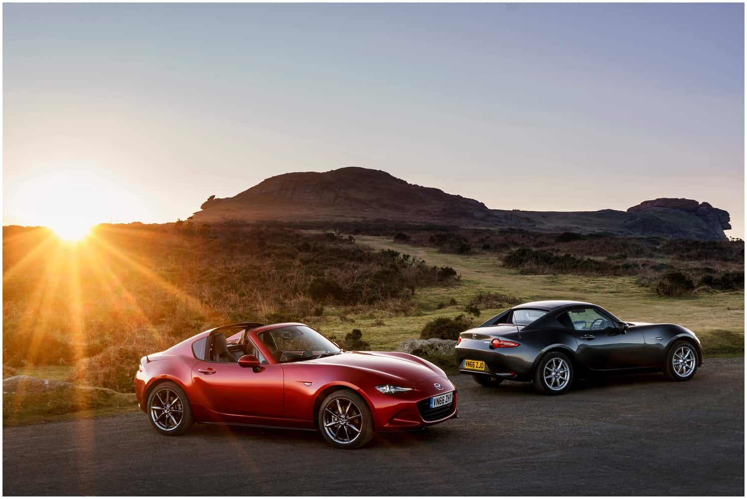Mazda MX-5 RF launch