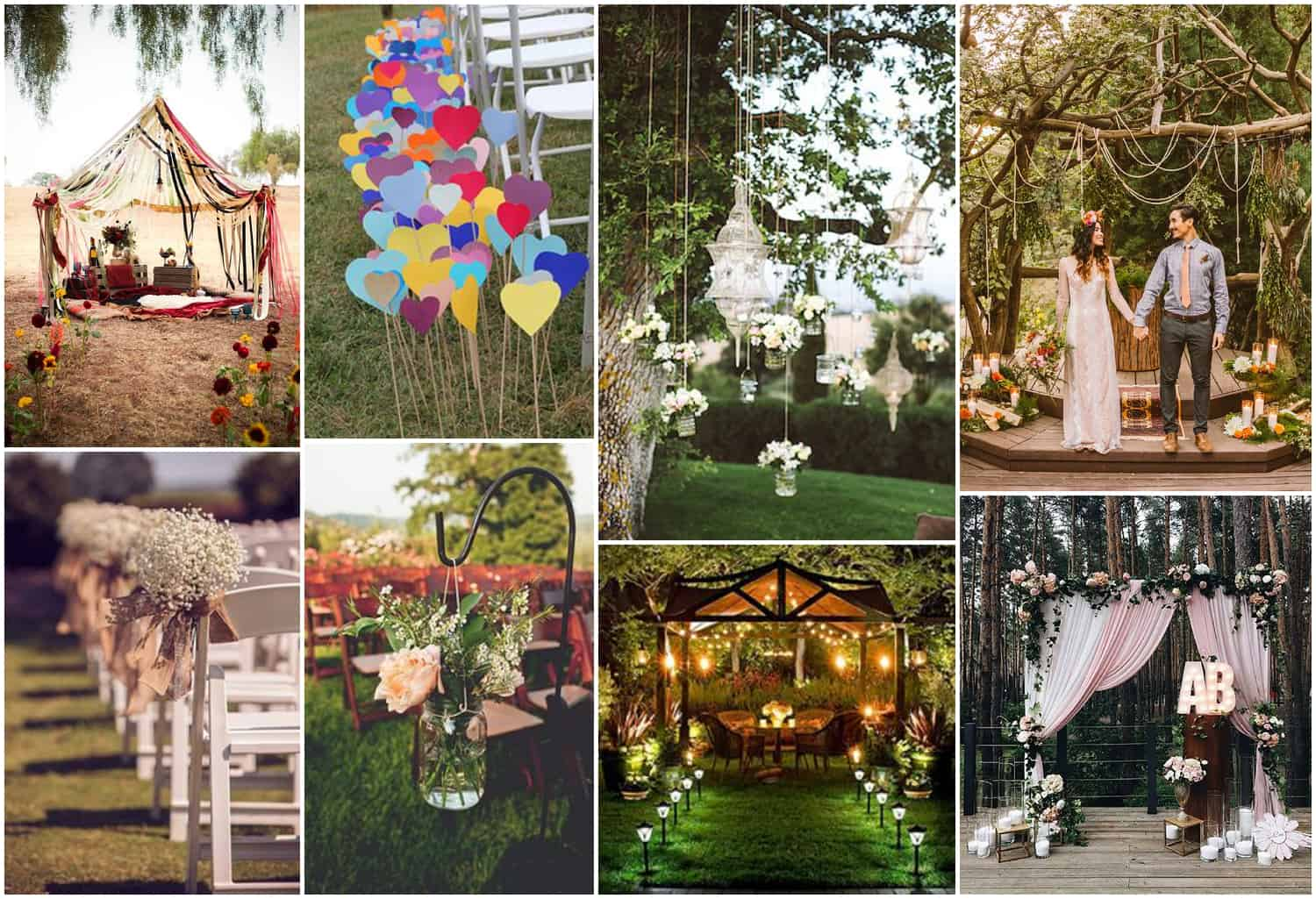 Outdoor Weddings Gazebo Inspiration