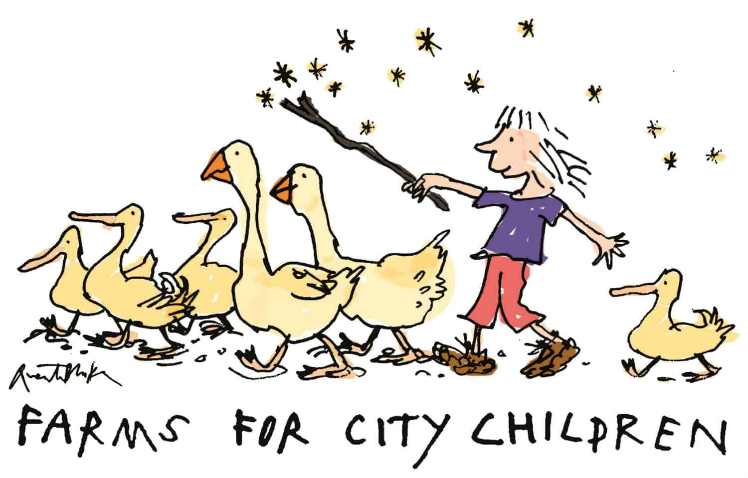 Farms for City Children, Michael Morpurgo