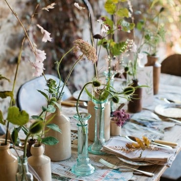 Beatrice Ginger Bottle wedding hire event hire
