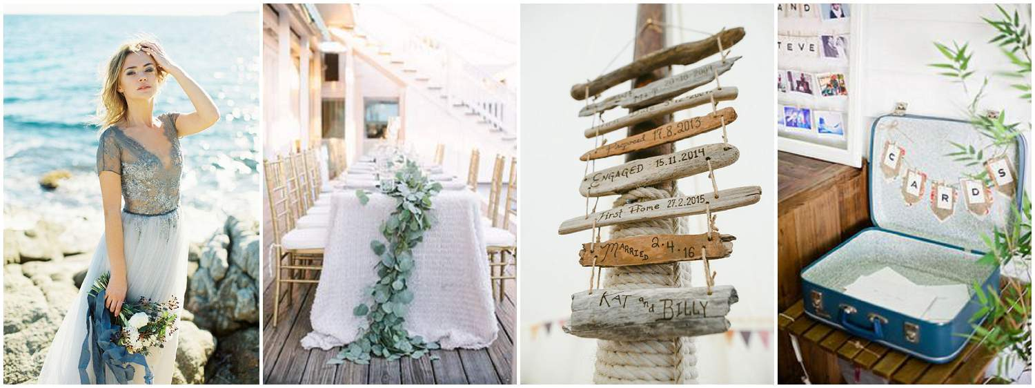 Beside The Seaside Wedding Inspiration – Devon Wedding Venues ...