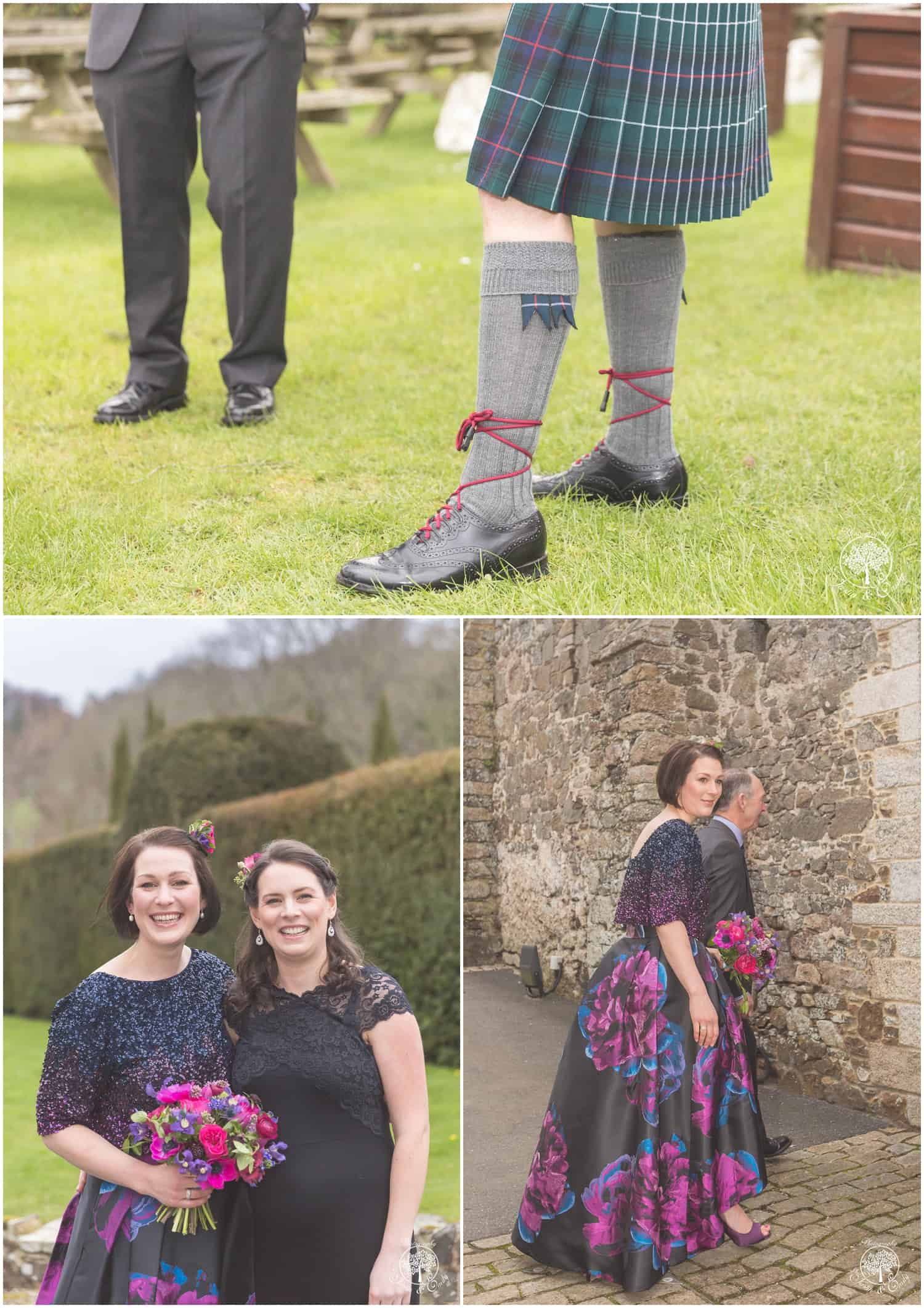 4 Katie & Chris - The Great Barn Devon, Images by Justin Krause