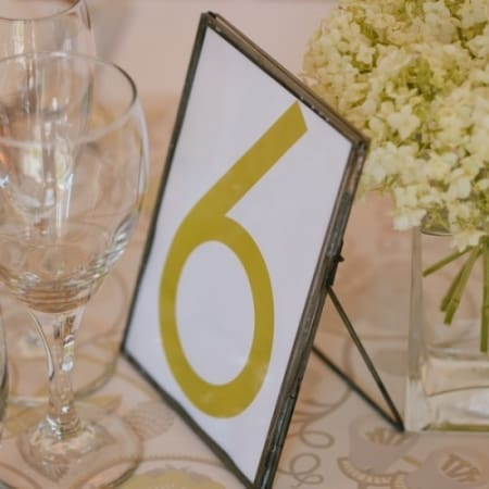 Asa Table Name Frame