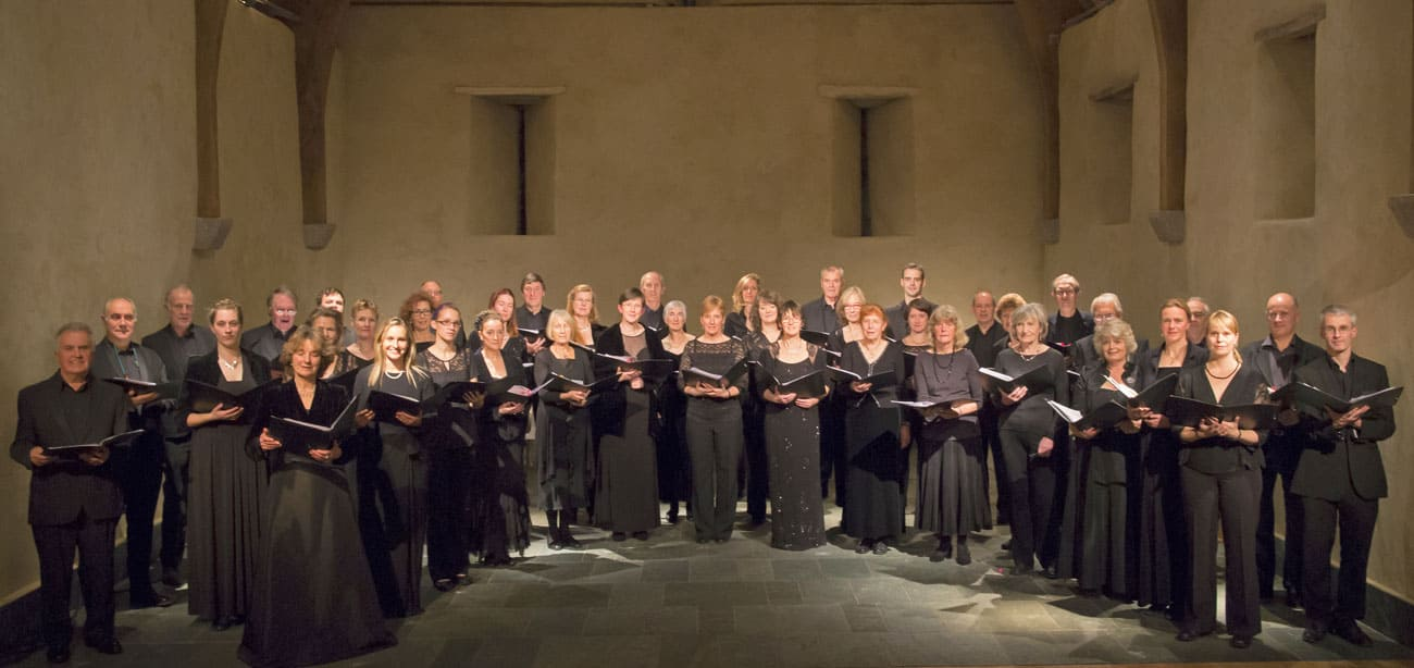 Exeter Chamber Choir, The Great Barn Devon, Christmas Carol Concert
