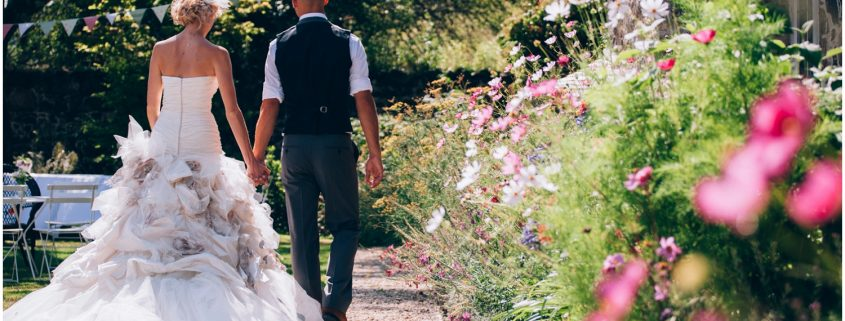 The wedding of Lauren and Jon at the Great Barn Devon, as photographed by Lucy Wallace