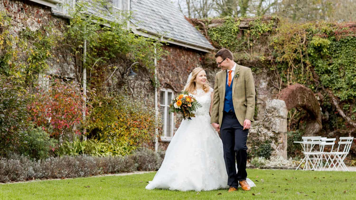 Gardens, Great Barn Devon Wedding Venue