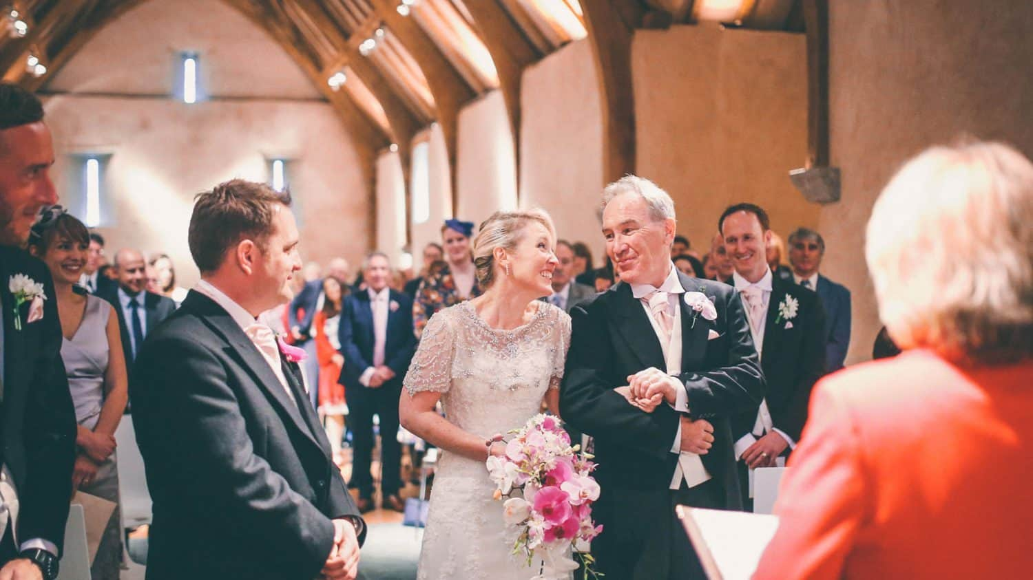 Marriage Ceremony Great Barn Devon Wedding Venue