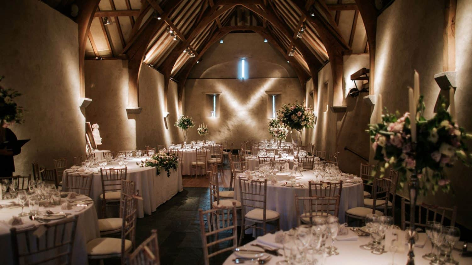 Wedding Breakfast Great Barn Devon