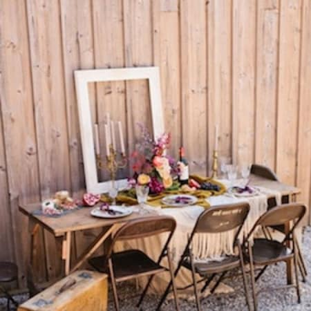 Abe Wooden Trestle Tables