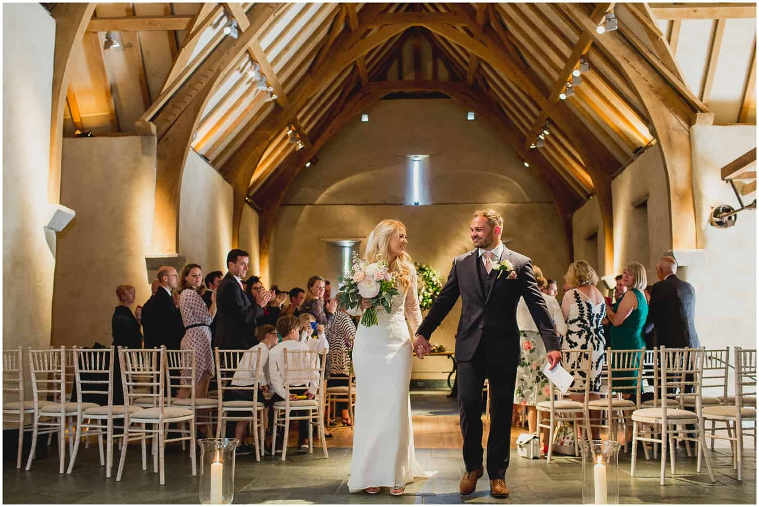 The Great Barn Devon - Liz & James - Photograph by Rebecca Roundhill