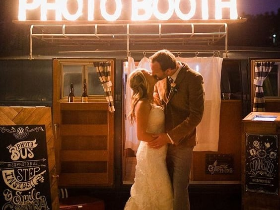 wedding photobooths and backdrops.