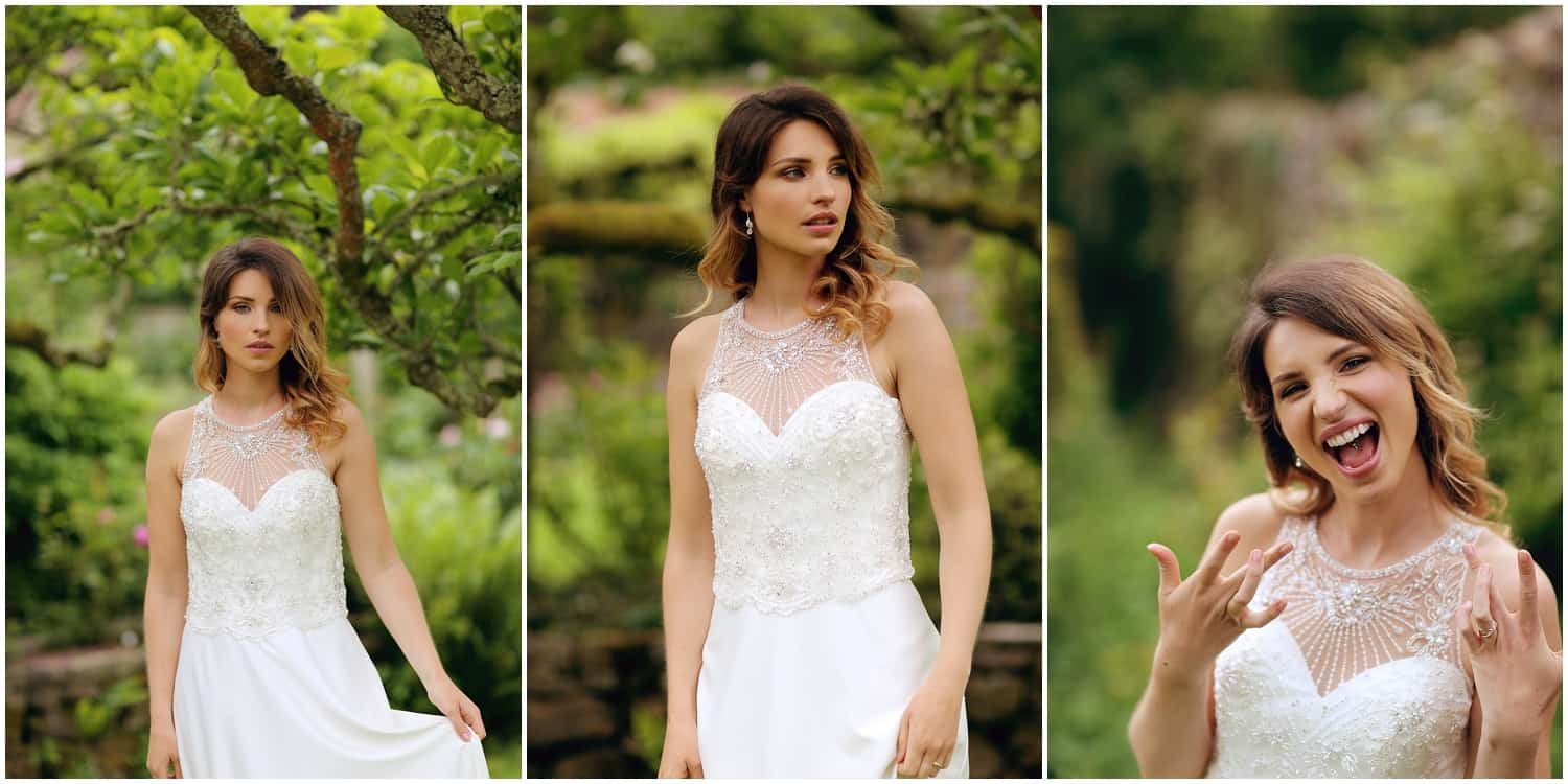 In the garden with Wed Magazine. Images by Emma Solley. Garden weddings, bridal inspiration, outdoor weddings, bridal fashion