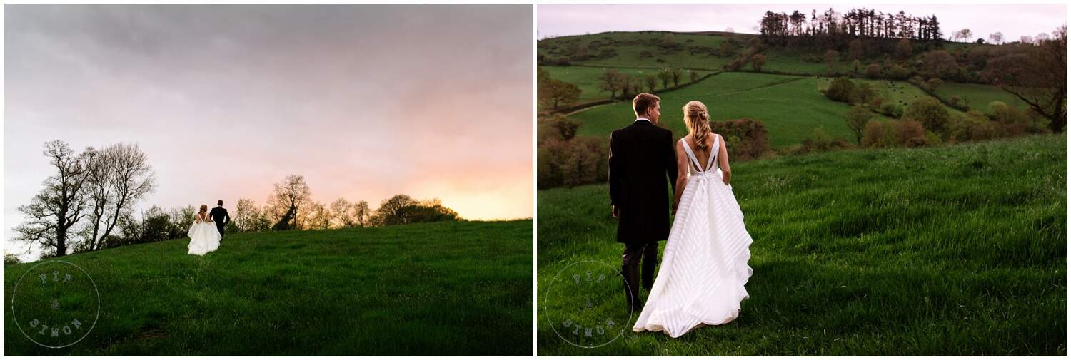 Emma & Robin. Great Barn Devon wedding. Church Wedding. Photos by Pip & Simon