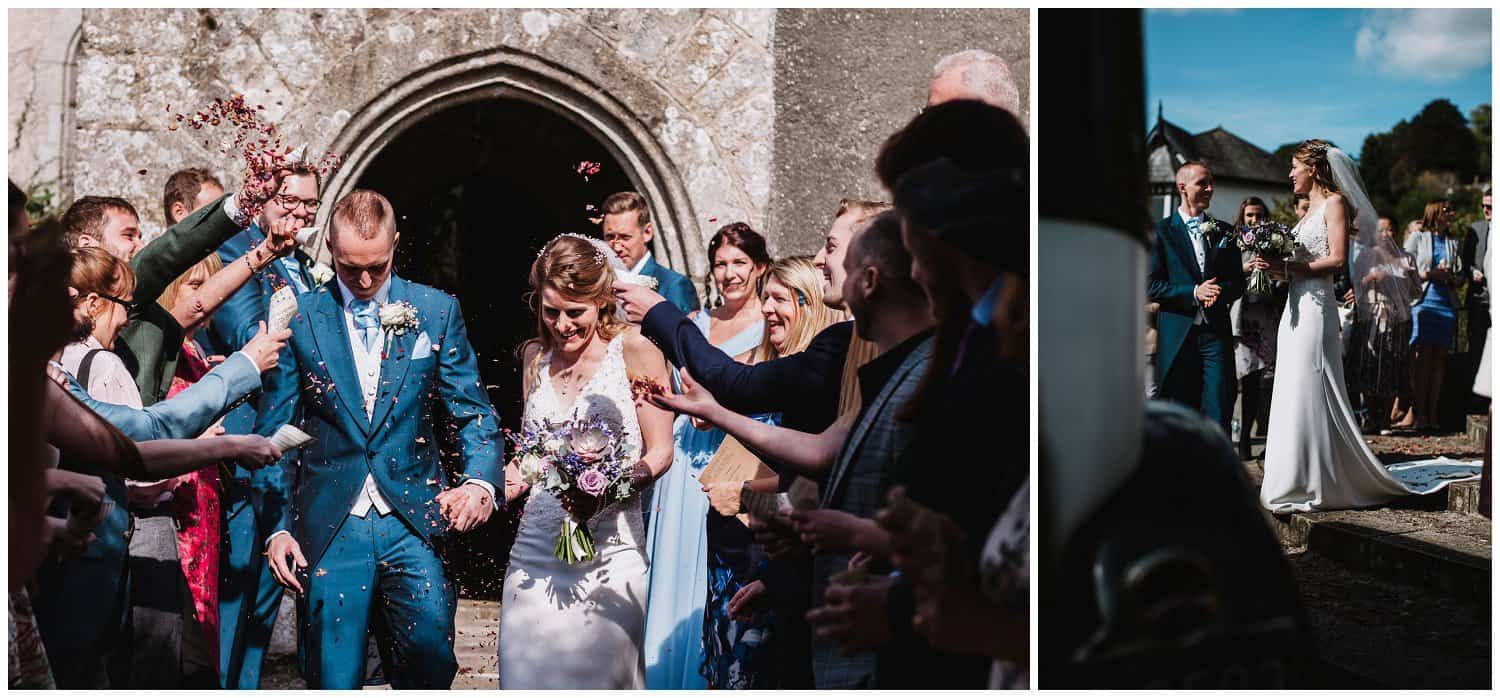 The wedding of Caz & Matt. Photographed by Rockrose Photography