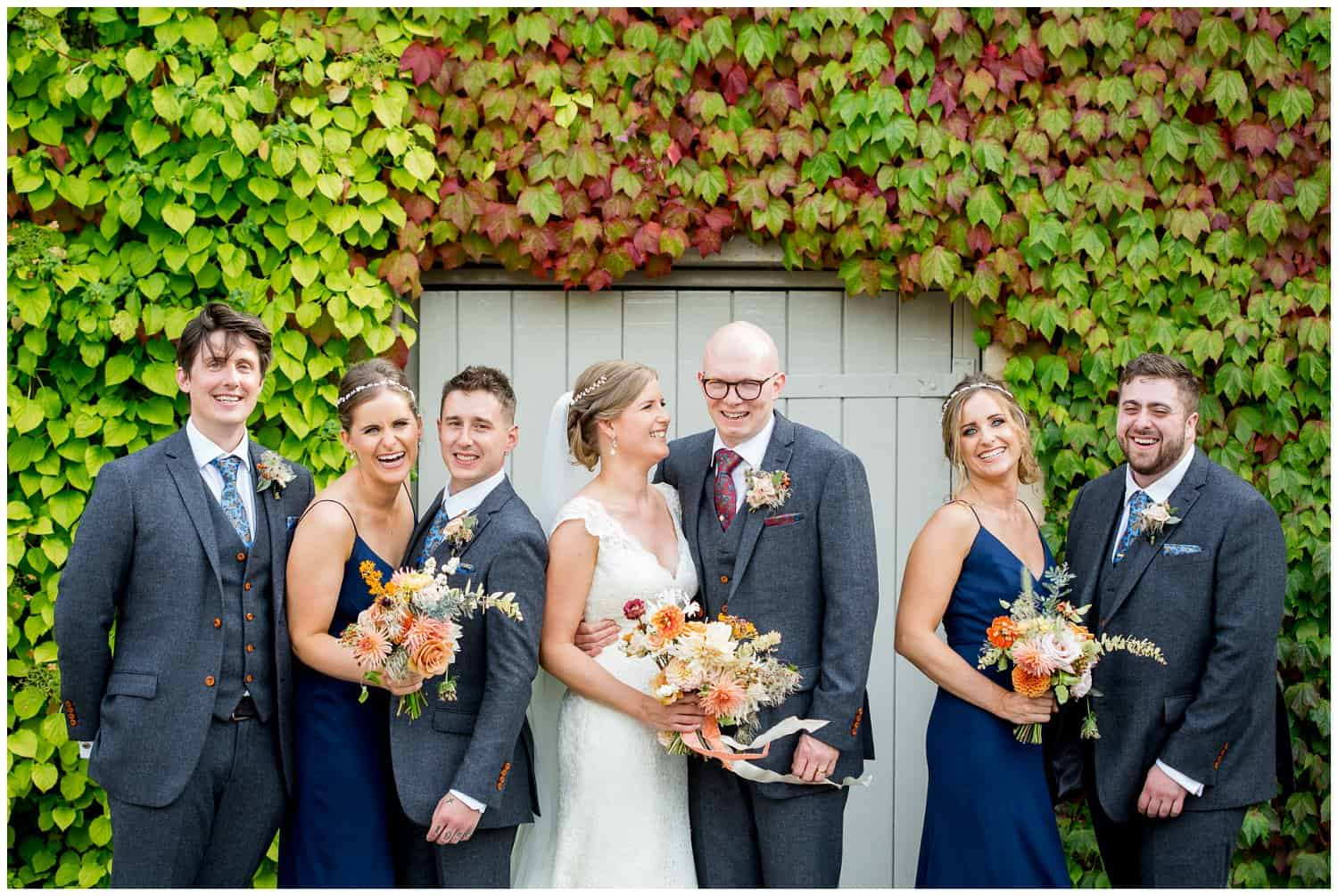 The wedding of Katy & Rich. Photographed by Rebecca Roundhill. Great Barn Devon weddings