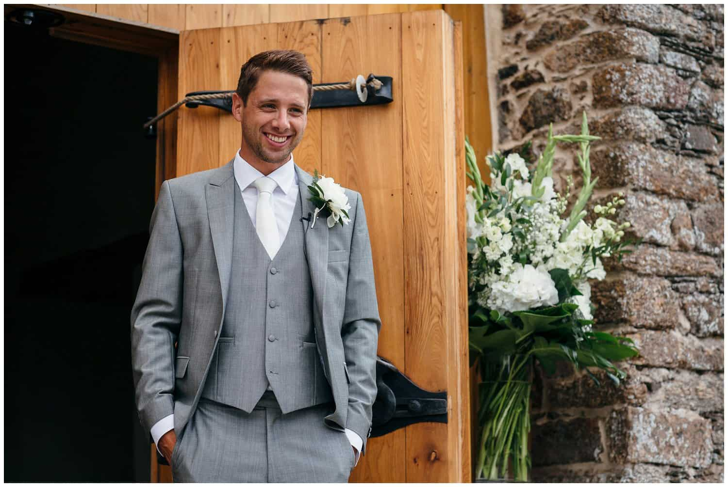 The wedding of Natalie & Dan. Civil ceremony. Barn wedding. The Great Barn Devon. Images by Freckle Photography