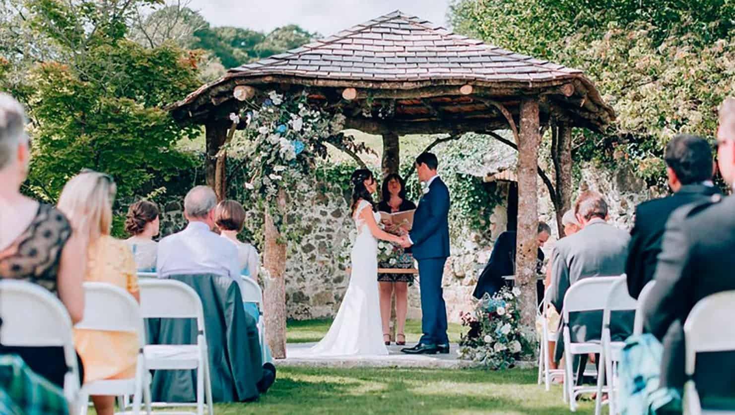 Wedding Arbour, Great Barn Devon